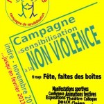Campagne de sensibilisation à la non-violence 2012