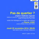 Soirée 25e anniversaire de la Convention Internationale des Droits de l'Enfant - Maison des Droits de l'Enfant