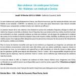 Fondation de Corse Umani - Non-violence : un credo pour la Corse
