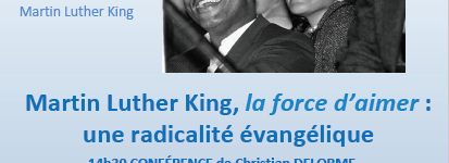 Rencontre autour de Martin Luther King samedi 17 mars