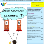 Lettre n°41 : oser aborder le conflit ?