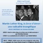 Rencontre autour de Martin Luther King